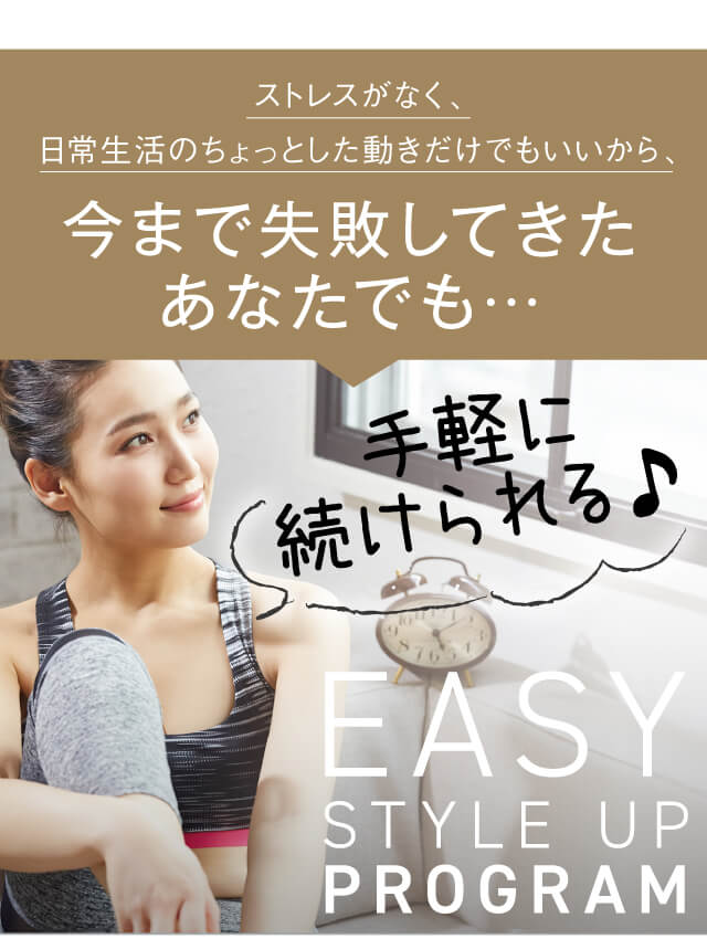 EASY STYLE UP PROGRAM